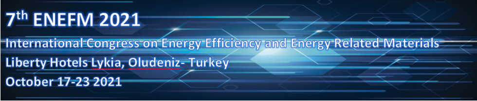 7th International Congress on Energy Efficiency and Energy Related Materials